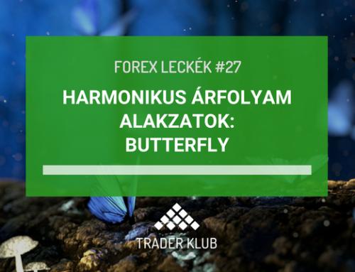 Harmonikus árfolyam alakzatok: Butterfly alakzat