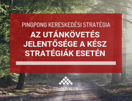 Az utánkövetés jelentősége a kész stratégiák alkalmazása során