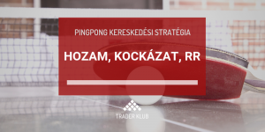 Hozam, kockázat, RR a Pingpong stratégiában
