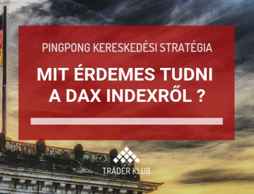 Utánkövetés ismét + mit érdemes tudni a DAX indexről?