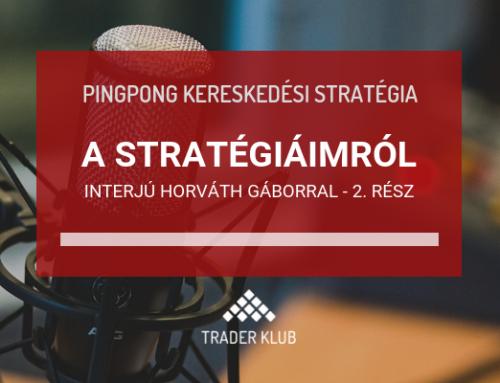 Stratégiáim – interjú Horváth Gáborral – 2. rész