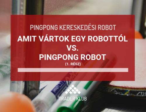 Amit vártok egy robottól vs. Pingpong robot – 1. rész