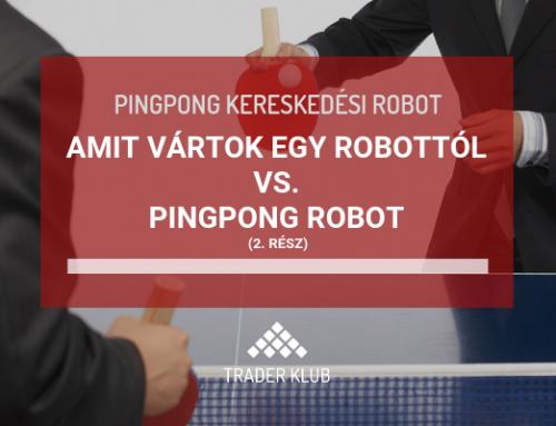 Amit vártok egy robottól vs. Pingpong robot – 2. rész