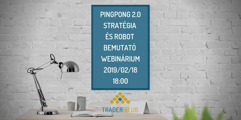 A Pingpong 2.0 Stratégia és robot bemutató webináriuma