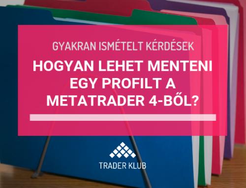 Hogyan lehet menteni egy profilt a MetaTrader4-ből?