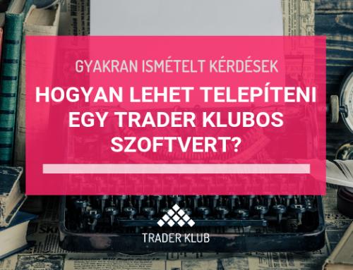Hogyan lehet bemásolni a MetaTrader4-be egy Trader Klubos szoftvert?