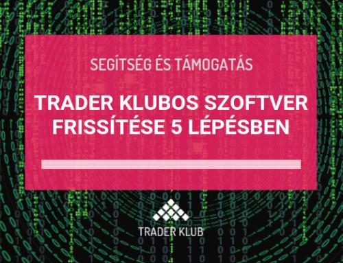 Trader Klubos robotok frissítése 5 lépésben