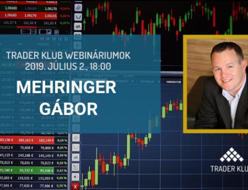Trader Klub webinárium: 2019. július 2., Mehringer Gábor