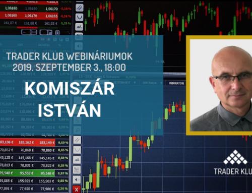 Trader Klub webinárium: 2019. szeptember 3., Komiszár István
