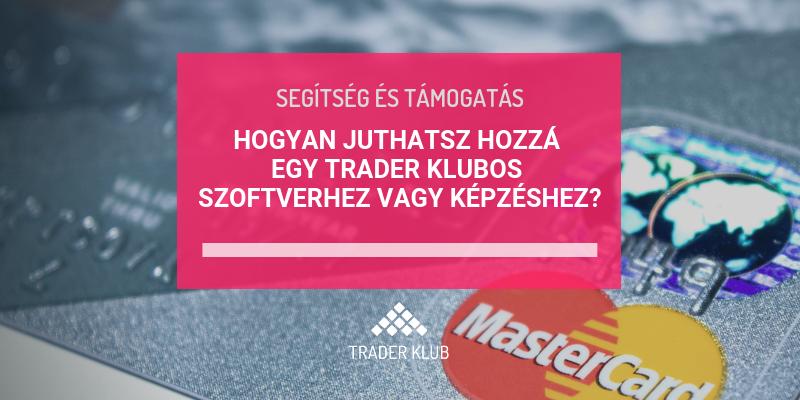 Trader Klubos szoftver / képzés vásárlása