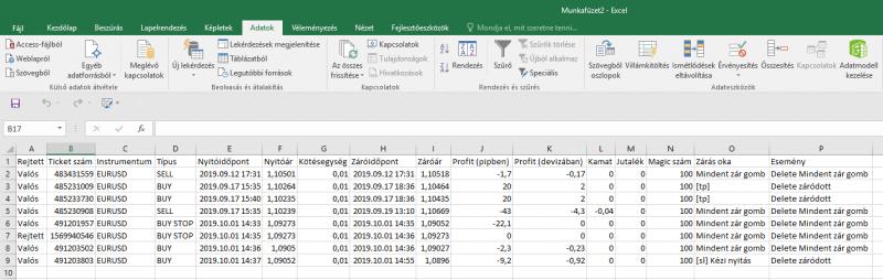 Sikeresen importált adatok