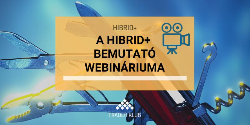 Hibrid+ bemutató webinárium