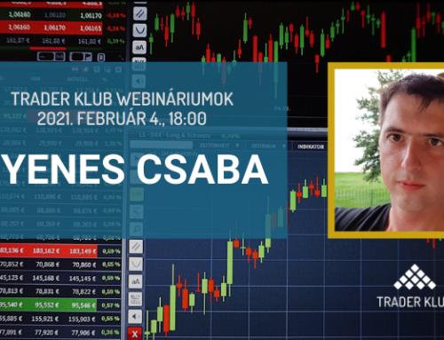 Gyenes Csaba: Varázslás opciókkal – bevezető a részvényopciók világába (Trader Klub webinárium, 2021. február 4.)