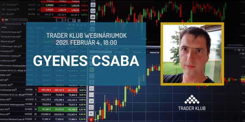 Gyenes Csaba webinárium - Varázslás opciókkal - Bevezető a részvényopciók világába