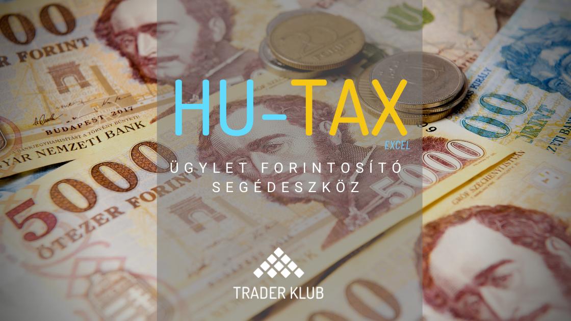 HU-Tax Forintosító Excel táblázat