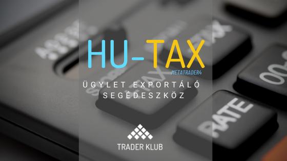 HU-TAX exportáló segédeszköz MetaTrader4-re