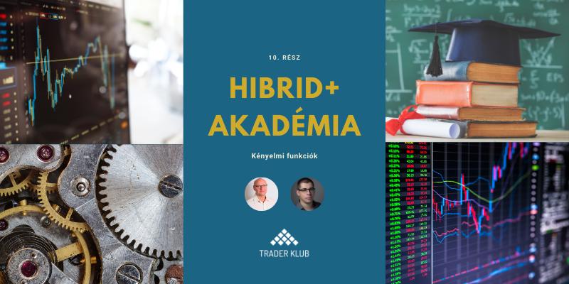 Hibrid+ Akadémia 10. rész: Kényelmi funkciók