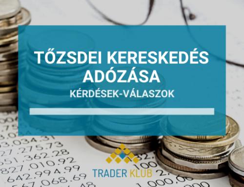 Gyakran Ismételt Kérdések a tőzsdei kereskedés adózása kapcsán