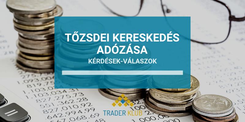 Tőzsdei Kereskedés adózása