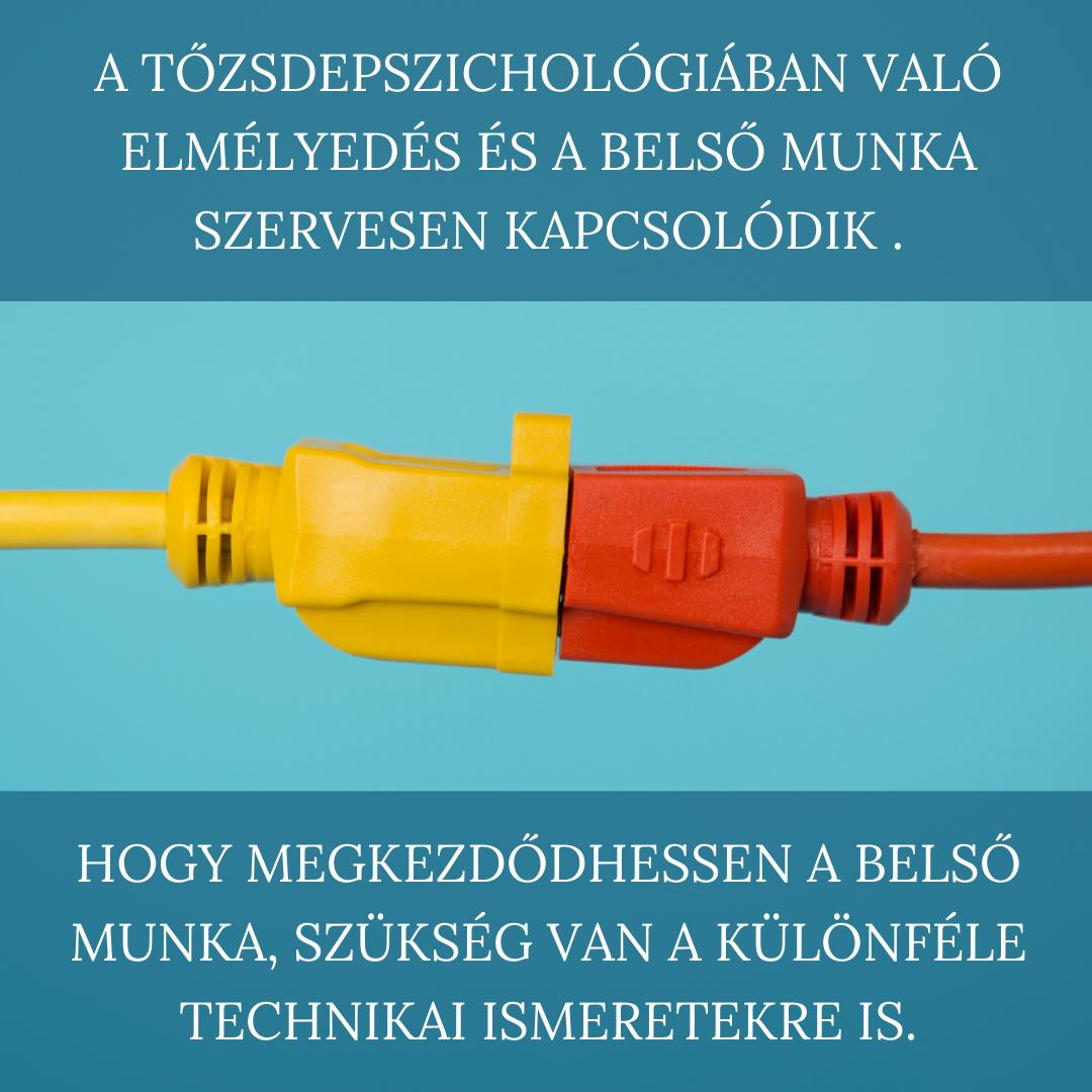 Hogy megkezdődhessen a belső munka, mindenképpen szükség van a különféle technikai ismeretekre is.